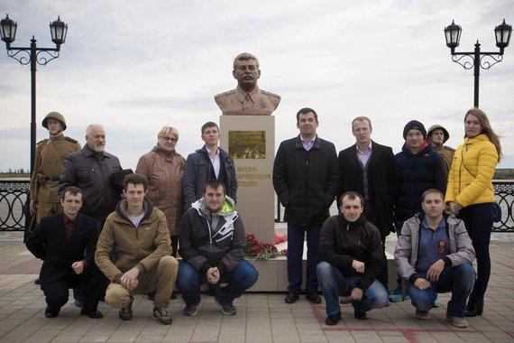 vk.com/bust_stalinu nuotr./Josifo Stalino biustas Surgute
