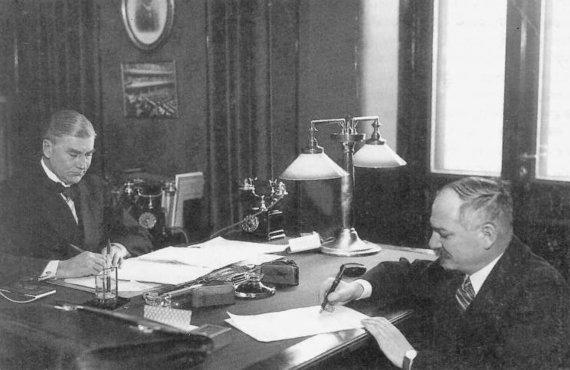 Wikipedia.org nuotr./SSRS ir Suomijos nepuolimo sutarties pasirašymas 1932 metais