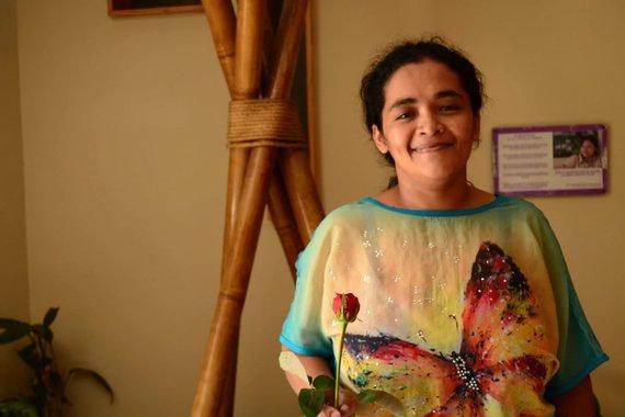 blog.amnestyusa.org nuotr./María Teresa Rivera po išlaisvinimo