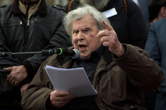 "AFP/""Scanpix"" nuotr./Mikis Teodorakis"