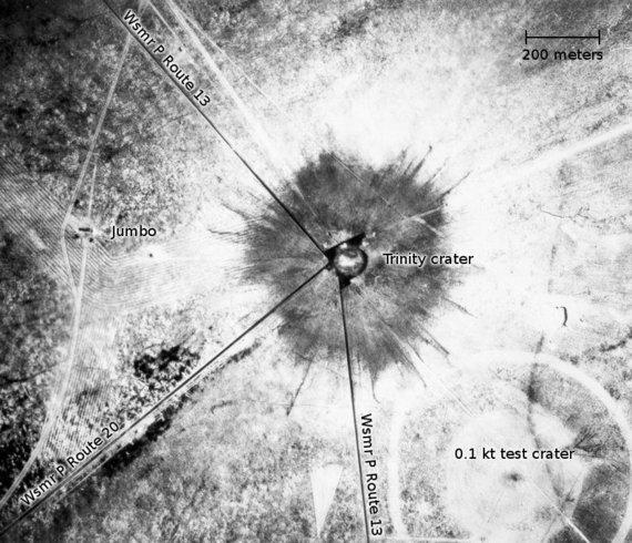 "Wikipedia.org nuotr./""Trinity"" sprogimo vieta"