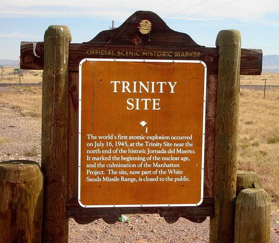 Wikipedia.org nuotr./Sprogimo vieta paversta lankomu objektu.