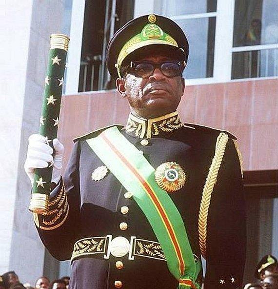 Wikipedia.org nuotr./Maršalas Mobutu Sese Seko
