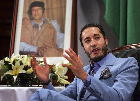 """Reuters""/""Scanpix"" nuotr./Saadi Kadhafi"