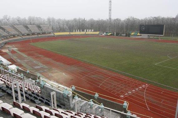Eriko Ovčarenko / 15min nuotr./S.Dariaus ir S.Girėno sporto centro stadionas