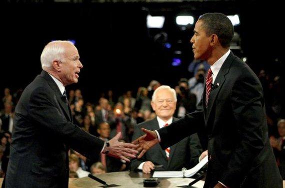 """Reuters""/""Scanpix"" nuotr./B.Obama ir J.McCainas"
