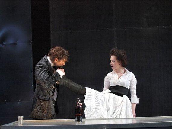 "Martyno Siruso / adfoto.lt nuotr./Mažajame teatre įvyko spektaklio ""Freken Julija"" premjera."