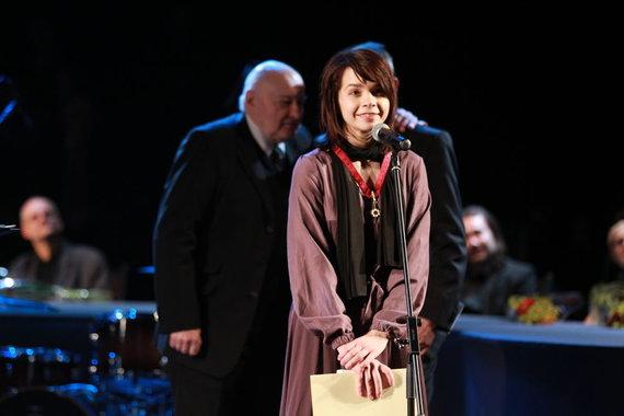 15min.lt/Irmanto Gelūno nuotr. /Geriausia antrojo plano dramos aktore tapo Elzė Gudavičiūtė.