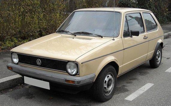"Rudolf Stricker, ""Wikimedia"" nuotr./""Volkswagen Golf Mk. I"""