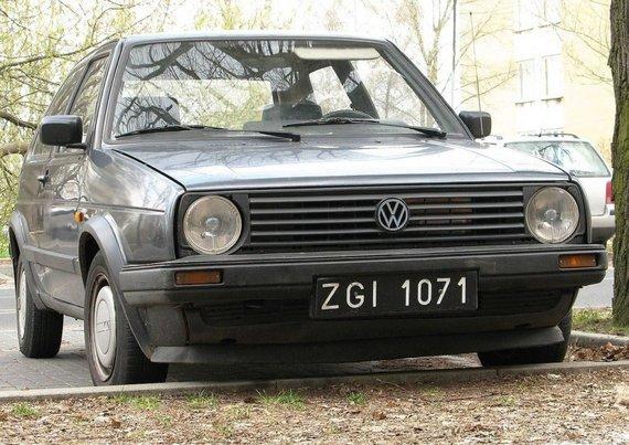 "Tb808, ""Wikimedia"" (CC BY-SA 3.0) nuotr. /""Volkswagen Golf Mk. II"" jau nebuvo sukurtas italų."