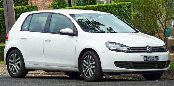 "OSX, ""Wikimedia"" nuotr./Australiškas ""Volkswagen Golf Mk. VI""."