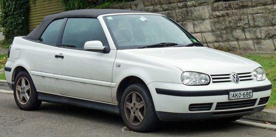 """OSX, """"Wikimedia"""" nuotr./Apgavikas """"Golf Mk. IV"""" kabrioletas – iš tikrųjų tai yra trečiosios kartos """"Golf""""."""