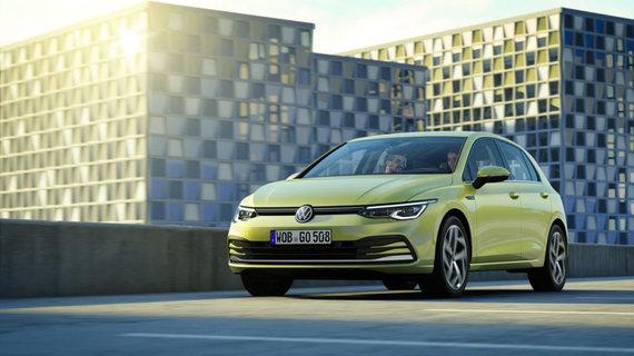 """""""Volkswagen"""" nuotr./Aštuntosios kartos """"Volkswagen Golf"""""""