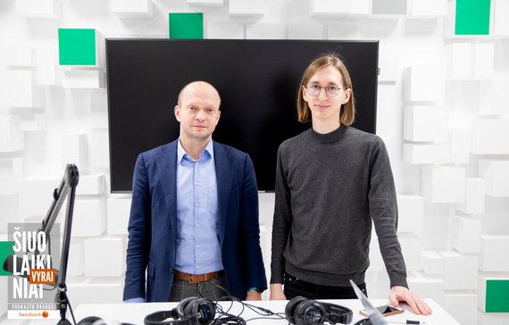 Luko Balandžio / 15min nuotr./Nerijus Mačiulis ir Donatas Paulauskas