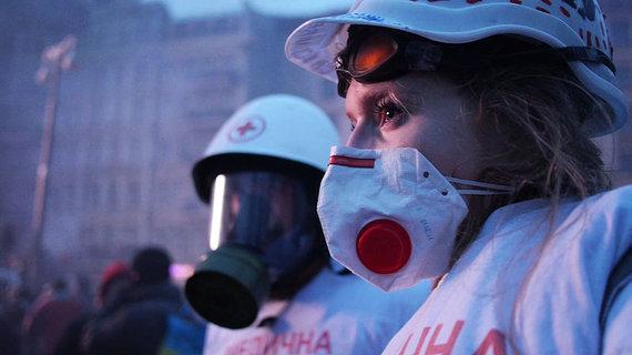 """Nepatogaus kino archyvo nuotr./Kadras iš filmo """"Euromaidanas. Juodraštis"""""""