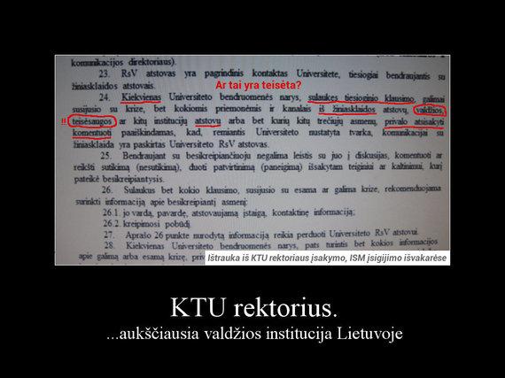 15min skaitytojo atsiųsta įsakymo ištrauka/Petro Baršausko įsakymo ištrauka