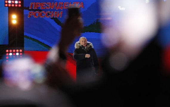 """""""Scanpix""""/AP nuotr./Prezidento rinkimai Rusijoje"""