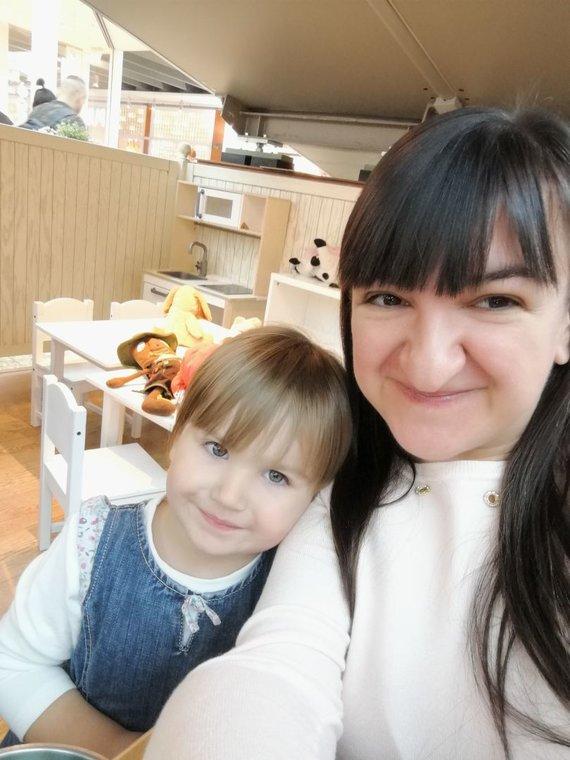 Asmeninio archyvo nuotr. /Rūta su dukrele Migle