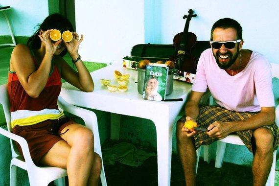Asmeninio archyvo nuotr./Akimirka iš muzikanto Lino Adomaičio kelionės Kuboje
