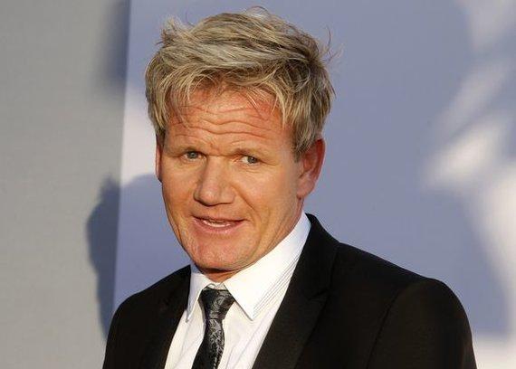 """""""Reuters""""/""""Scanpix"""" nuotr./Garsusis virtuvės šefas Gordonas Ramsay"""