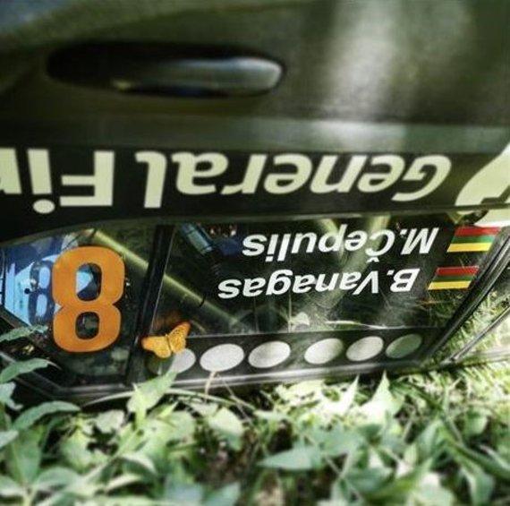 GF Pitlane nuotr./B.Vanago automobilis po avarijos