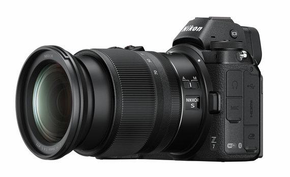 """Nikon nuotr./Fotoaparatas """"Nikon"""" Z7"""