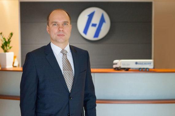 """Tomas Jurgelevičius, UAB """"Hegelmann Transporte"""" direktorius"""