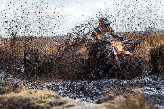 Motociklininke.lt archyvo iliustr./KTM EXC-F, ktm.com