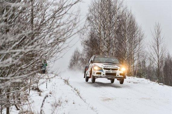 """Winter rally"", V.Pilkausko nuotr."