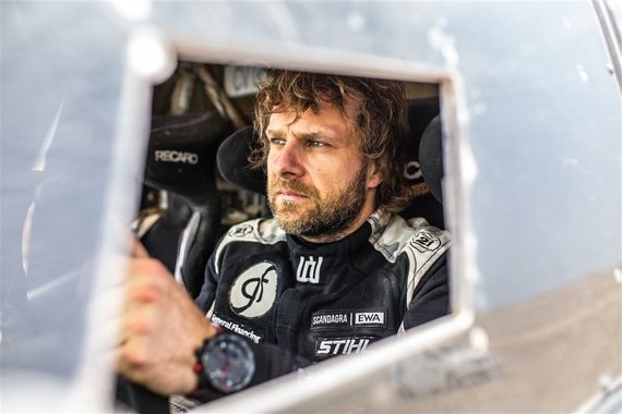 "Edgaro Buiko nuotr./Dakaro ralis, ""General Financing Team Pitlane"" komanda, Benediktas Vanagas"
