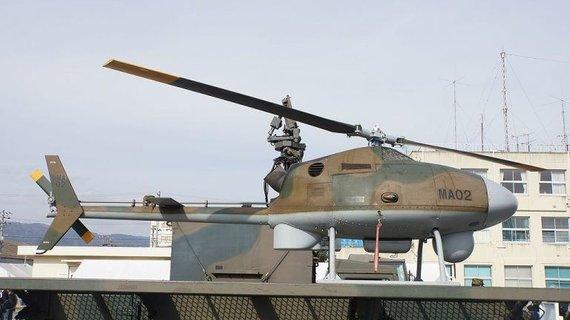 Šis bepilotis sraigtasparnis yra Subaru motininės korporacijos divizijos kūrinys. (Hunini, Wikimedia(CC BY-SA 4.0)