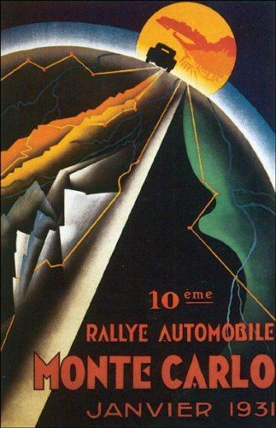 R.Žičkaus archyvo nuotr./Klemas Martinkus ir Jonas Pyragius dalyvavo Monte Karlo ralyje 1931 m.