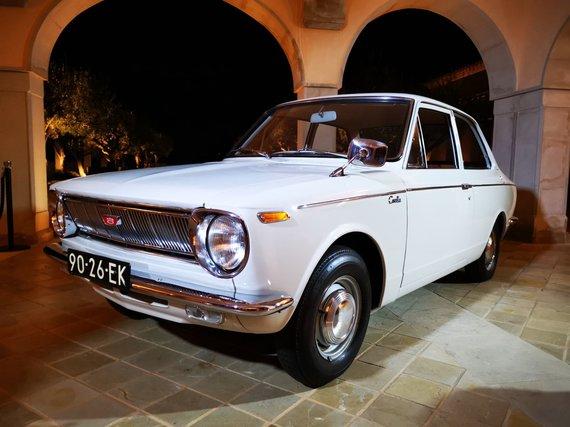 """Žilvino Pekarsko / 15min nuotr./Istorinė """"Toyota Corolla"""" (1966-1970 m.)"""