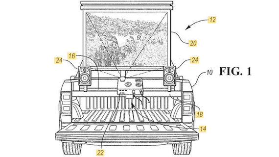 "Ford iliustr./""Ford"" patento eskizas"
