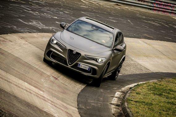 Gamintojo nuotr./Alfa Romeo Stelvio Quadrifoglio NRING