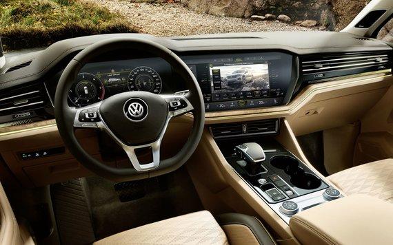 Gamintojo nuotr./Volkswagen Touareg