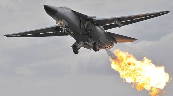 "AFP/""Scanpix"" nuotr./Naikintuvas F-111"