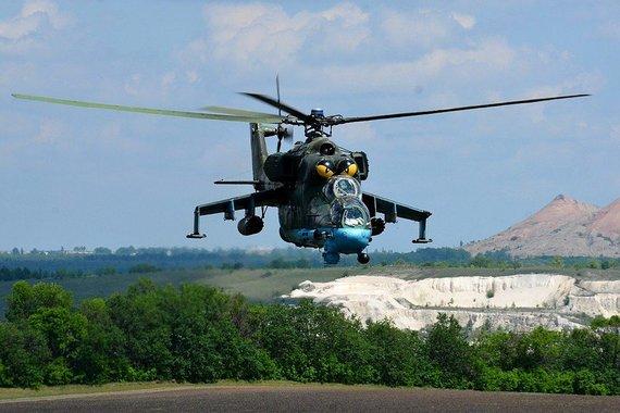 Wikimedia Commons iliustr./Mi-24, vadinamas skraidančiu tanku