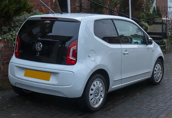 "Wikimedia Commons, Vauxford nuotr./""VW Up!"""