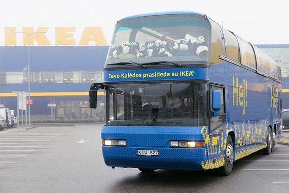 IKEA Kalėdų autobusas