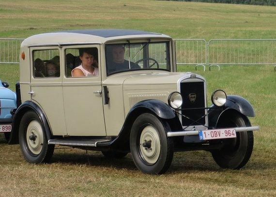 Peugeot 201 – pirmasis serijinės gamybos modelis markės istorijoje. (Charles01, Wikimedia(CC BY-SA 4.0)