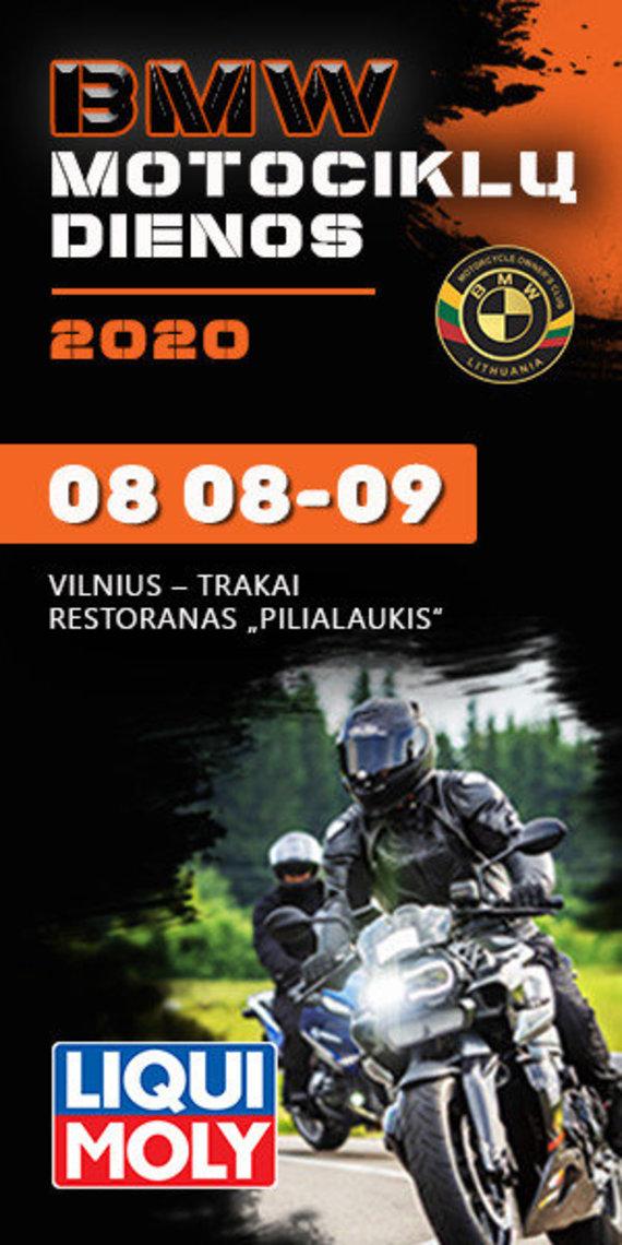 """""""BMW motociklų dienos 2020"""""""