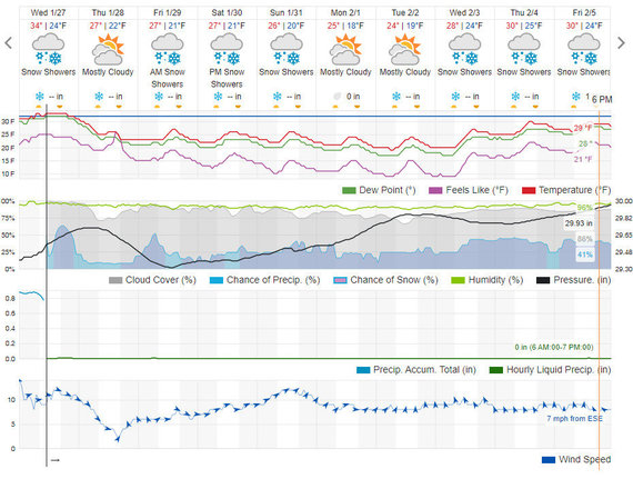 Wunderground.com iliustr./Orų prognozė