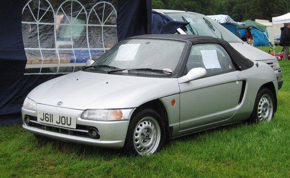 Honda Beat sulaukė ir Jerremy Clarksono pagyrų. (Charles01, Wikimedia(CC BY-SA 3.0)