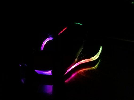 """Norvydo Davalgos nuotr./""""Patriot Viper V570 Blackout Edition"""" irgi turi RGB apšvietimą"""
