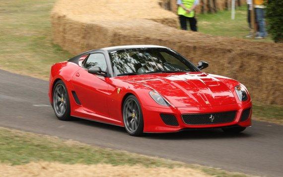 Ferrari 599. (richard, Wikimedia(CC BY 2.0)
