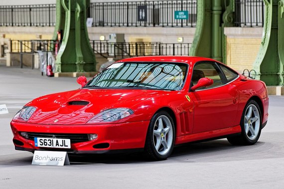 Gražuolis Ferrari 550. (Thesupermat, Wikimedia(CC BY-SA 4.0)