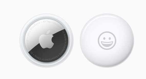 Apple nuotr./AirTags