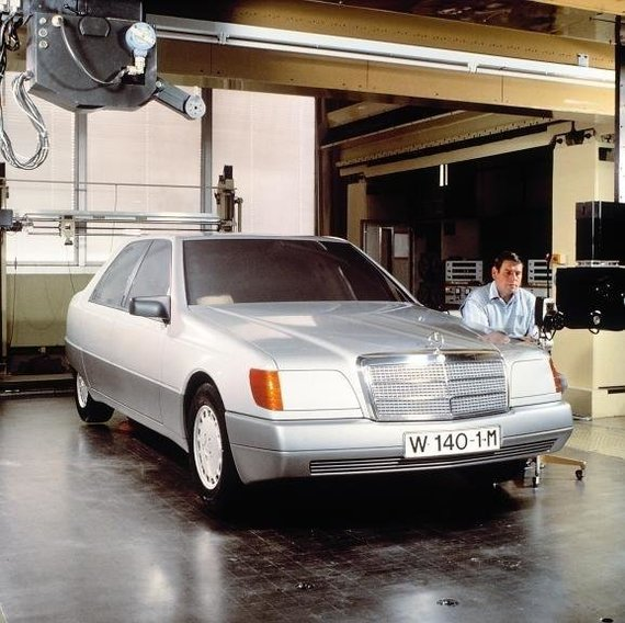 Car Vertical nuotr./Mercedes S klasės prototipas