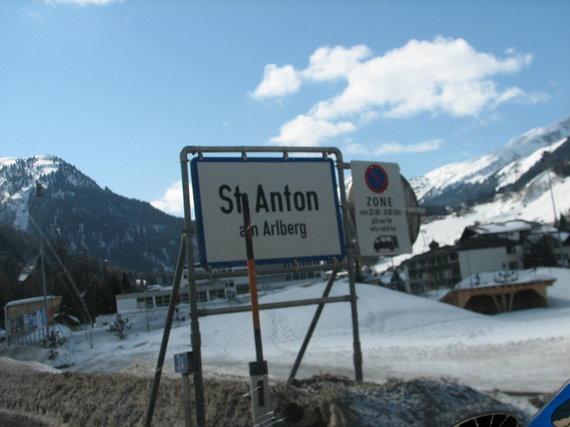 Skaitytojo Ričardo nuotr./Austrijos kalnų slidinėjimo kurortas St.Antonas